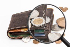 Portafoglio e denaro